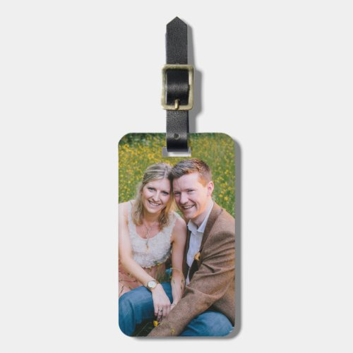 Custom Photo Bag Tag