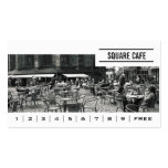 Custom Photo Banner Coffee Shop Loyalty Cards Business Card