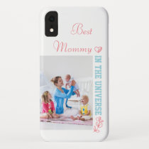 Custom Photo - Best Mommy in the Universe iPhone XR Case