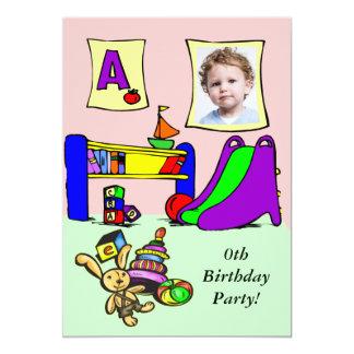 """Custom Photo Birthday Party Invitation 5"""" X 7"""" Invitation Card"""