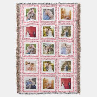 Custom Photo Blanket 15 Color Frames