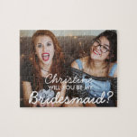 "Custom Photo Bridesmaid Proposal Puzzle Gift<br><div class=""desc"">Personalized Photo Bridesmaid Proposal Puzzle Gift</div>"
