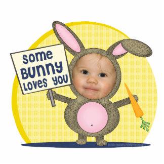 Custom Photo Bunny Love Cut Outs
