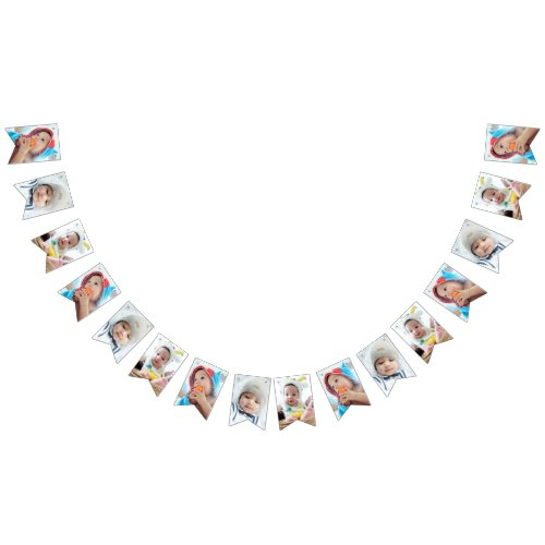 Custom Photo Bunting Flags