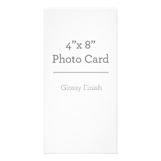 Custom Photo Card Template
