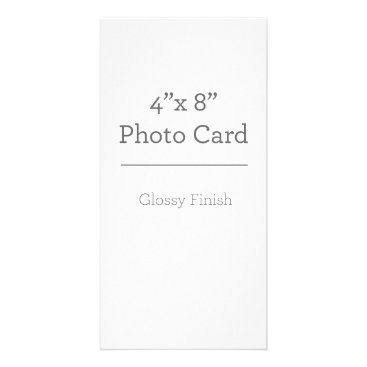 Beach Themed Custom Photo Card Template