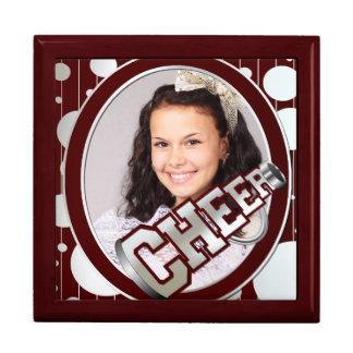 Custom Photo Cheerleader Tile Box