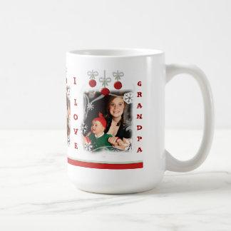 Custom Photo Christmas Grandpa Mug