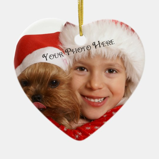 Custom Photo Christmas Ornaments