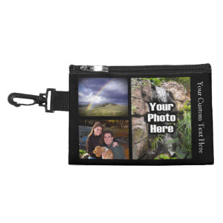 Custom Photo Collage Accessory Bag
