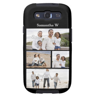 Custom Photo Collage Galaxy SIII Cases