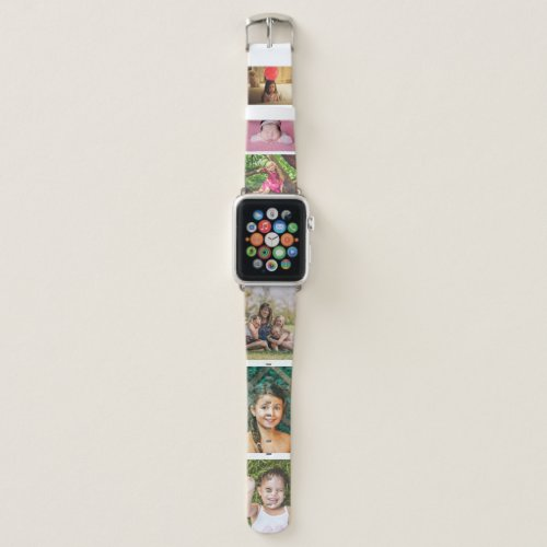 Custom Photo Collage Create Your Own Picture Uploa Apple Watch Band
