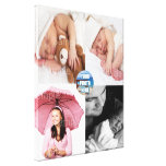 Custom Photo Collage Customizable Canvas Print