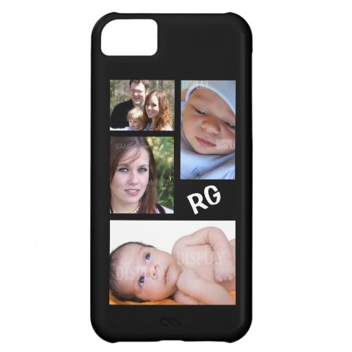 Custom Photo Collage Customizable iPhone 5C Cases