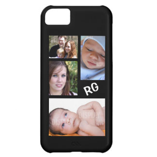 Custom Photo Collage Customizable Case For iPhone 5C
