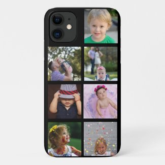 Custom Photo Collage Customizable Case-Mate iPhone Case