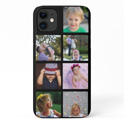 Custom Photo Collage Customizable iPhone 11 Case