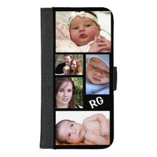Custom Photo Collage Customizable iPhone 8/7 Plus Wallet Case