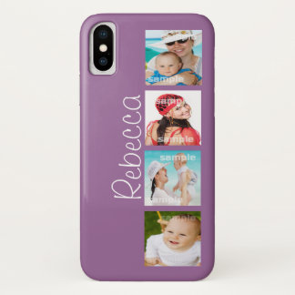 Custom Photo Collage Customizable iPhone X Case