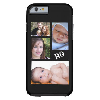 Custom Photo Collage Customizable Tough iPhone 6 Case