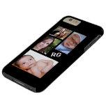 Custom Photo Collage Customizable Tough iPhone 6 Plus Case