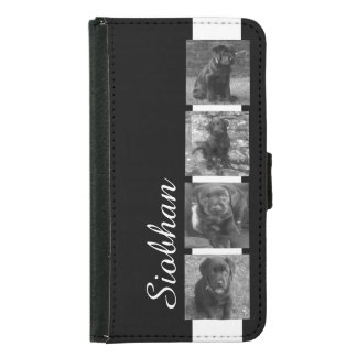 Custom Photo Collage Customizable Wallet Phone Case For Samsung Galaxy S5