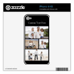 Custom Photo Collage Decal For The iPhone 4S