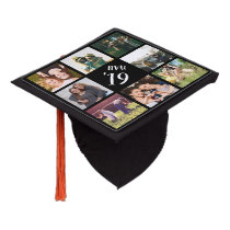 Custom Photo Collage Graduation Cap Topper