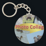 "Custom Photo collage Keychain<br><div class=""desc"">Custom Photo collage</div>"