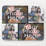 Custom Photo Collage Mousepad Add your 4 Photos