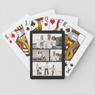 Custom Photo Collage Playing Cards