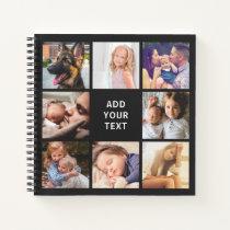 Custom Photo Collage Scrapbook Notebook