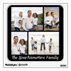 Custom Photo Collage Wall Decal