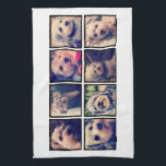 """Custom Photo Collage with Square Photos Towel<br><div class=""""desc"""">Use your favorite photo or pictures to make a fun keepsake to share with friends.</div>"""
