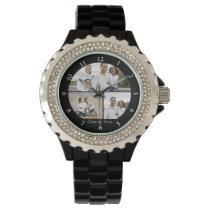 Custom Photo Collage Wristwatch