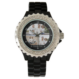 Custom Photo Collage Wristwatch