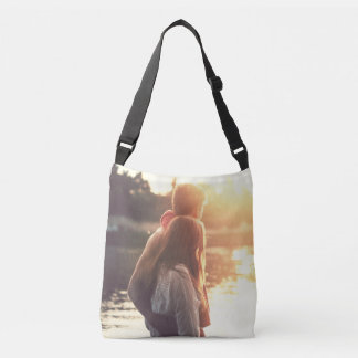 Custom photo crossbody bag