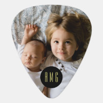 Custom Photo | Custom Monogram Guitar Pick