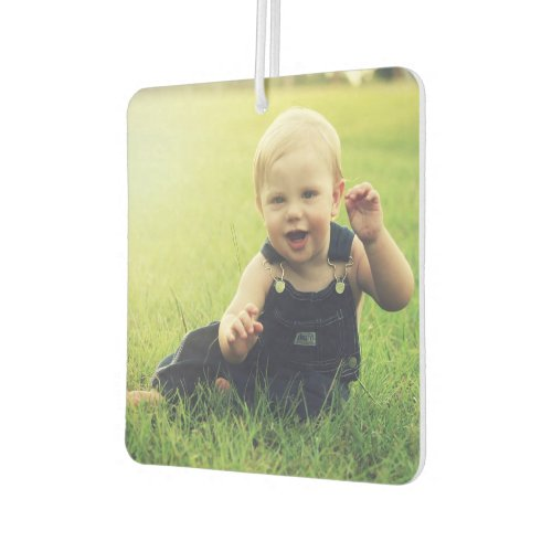 Custom Photo Design Your Own Auto Decoration Car Air Freshener