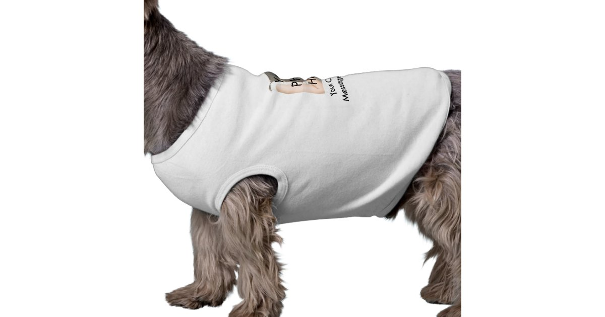 Customize Your Dog S Picture On A Shirt