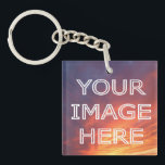 "Custom Photo Double Sided Personalised Keyring<br><div class=""desc"">Personalised double sided keychain with your own custom photo. Fun gift idea for a friend or loved one.</div>"