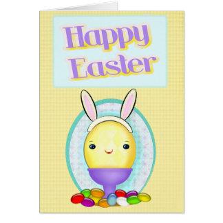 Custom Photo Easter Bunny Egg Cards