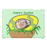 Custom Photo Easter Egg in Nest Template Cover For The iPad Mini