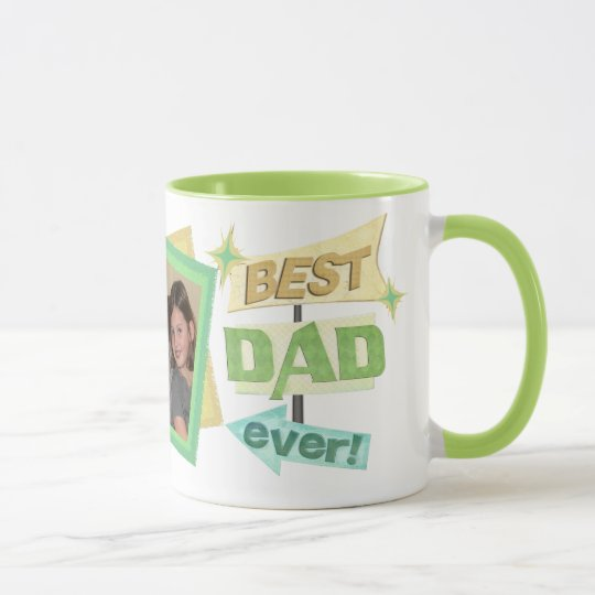 Custom Photo Father's Day Dad Coffee Mug