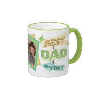 Custom Photo Father's Day Dad Coffee Mug