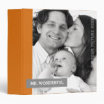 Custom Photo Father's Day Gift Binders