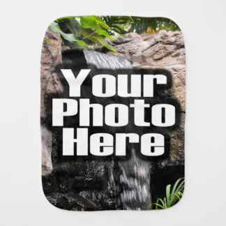 Custom Photo Full-Color Personalized Baby Burp Cloths