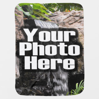 Custom Photo Full-Color Personalized Stroller Blankets