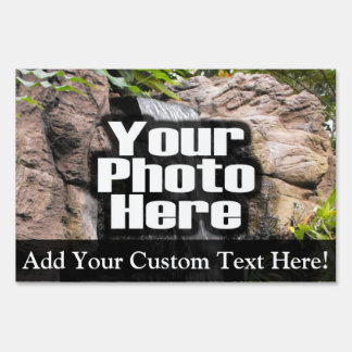 Custom Photo Full-Color Yard Sign