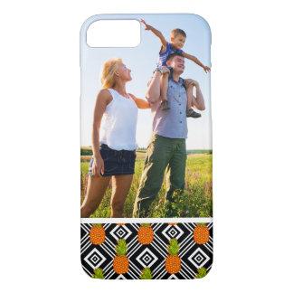 Custom Photo Geometric Pineapples iPhone 7 Case